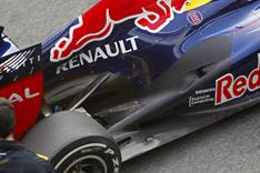 Das Heck des Red Bull Racing RB8
