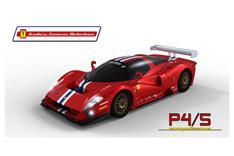 So soll der Ferrari P4/5 für die 24 Stunden aussehen