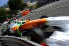 Adrian Sutil in Monaco